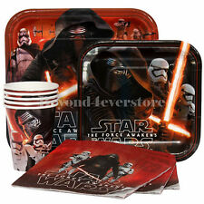 Disney Star Wars Birthday Party Express Pack for 8 guests (Plates,Cups,Napkins)