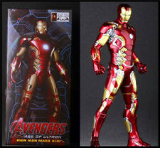 MARVEL HERO AVENGERS IRON MAN MARK XLIII 43 PVC ACTION FIGURES STATUE CRAZY TOYS