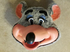 Chuck E Cheese Walkaround Mascot Mouse Costume Head - Very Rare! (Pre-Avenger)