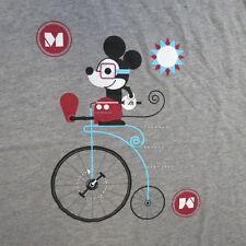 DISNEY MICKEY MOUSE BIKE BICYCLE WONDER GROUND GALLERY TEE T SHIRT Sz Mens L