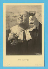 GERMAN  ACTOR  -  ROSS  VERLAG  SCARCE  POSTCARD  -  EMIL  JANNINGS  E -  1930's