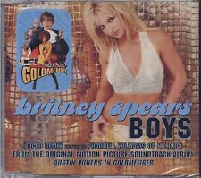 BRITNEY SPEARS - Boys - CDs SINGLE 2001 4 TRACKS SEALED