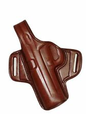 "Colt 1911 & Clones OWB Holster 5"" Brown Leather Cocked Locked Left Tagua BH1-218"