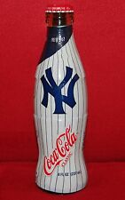 Mint Coca-Cola 8oz New York Yankee 100th Anniversary Wrapped Bottle 1903-2003