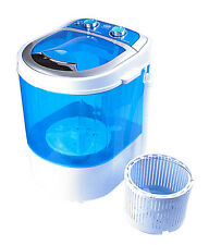 DMR 30-1208 Portable Single Tub Mini Washing Machine with dryer basket- BLUE