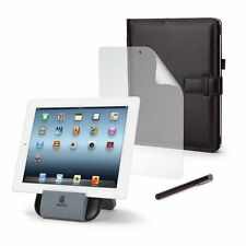 Griffin iPad (3rd Generazione) + 2 ESSENTIALS BUNDLE (stand-Folio-STILO) - NUOVO