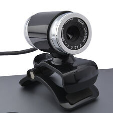 USB 12MP HD Camera Web Cam 360° with Mic Clip-on for PC Laptop Computer Skype