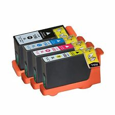 4 Pack 150XL Ink Cartridge Fits Lexmark 150 Pro715 Pro915 S315 S415 S515