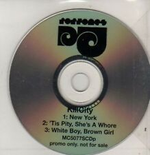 (AD184) Kill City, New York - DJ CD