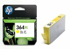 ORIGINALE HP 364XL GIALLO Cartucce Inchiostro Per Photosmart 5510 5520 6520 7520 B110A