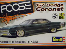Revell 1967 Dodge Coronet Foose plastic model kit 1/25