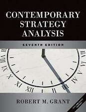 Contemporary Strategy Analysis And Cases by Robert M Grant