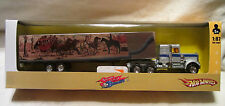 "Hot Wheels CUSTOM '75 KENWORTH W900 Semi Trailer "" Smokey And The Bandit II """