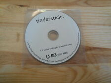 CD Indie Tindersticks - If You're Looking For (1 Song) Promo CITY SLANG cd only