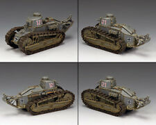 KING AND COUNTRY Renault FT-17 #121 Tank WW2 WSS319 WS319