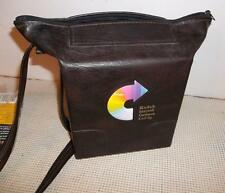 KODAK Instant Camera Caddy Brown Leather Vintage Camera Bag Poloroid