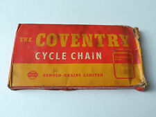 """*NOS Vintage 1950s/60s The COVENTRY 1/2"""" x 1/8"""" cycle chain - 112 links*"""