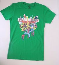 Kids Marvel Superheroes T-Shirt Green Size M NWT