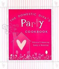 The Domestic Diva's Party Cookbook-ExLibrary