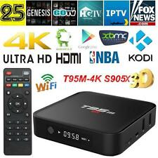 T95M 4K S905X Android6.0 Smart TV Box LED UHD 2.0GHz Quad Core KODI 16.0 XBMC 8G