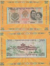 BHUTAN Commemorative Banknote with Folder UNC