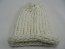 CREAM COLOR - INFANT/BABY SIZE - STOCKING CAP BEANIE HAT!