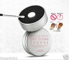 So Natural Makeup Brush Dry Clean Sponge - No Need to Wash 5 sec. Cleaner
