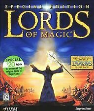 Lords of Magic Special Edition + Legends of Urak (PC CD) Sierra Studios, 2000