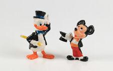 Micky Maus + Donald Duck === Walt Disney 2 Zauberer Figuren Applause