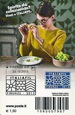 2015 Italiafil - Italia - tessera filatelica