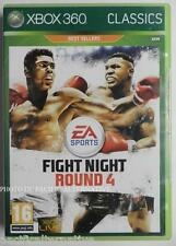 jeu FIGHT NIGHT ROUND 4 pour xbox 360 game francais action spiel boxe X360