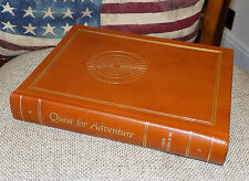 Quest for Adventure by Chris Bonington 1982 Luxury Leather Bound Signed HB Book