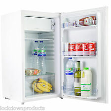 Quality Simline 95 Litre Under Counter White Fridge 47cm Wide - With IceBox