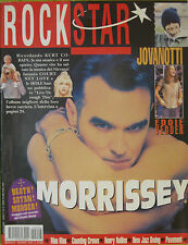 ROCKSTAR 14 1994 Morrisey Kurt Cobain Hole Counting Crows Pearl Jam Pavement
