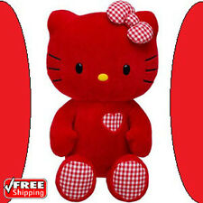 NWT Build-A-Bear #Limited Edition HELLO KITTY *RED* Unstuffed Plush 18 inch