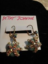 Betsey Johnson Goldtone Starfish Drop Earrings