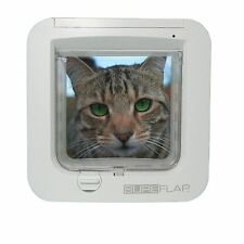 SureFlap Microchip CatFlap White Door Posted Today 1St Class if Paid Before 3pm