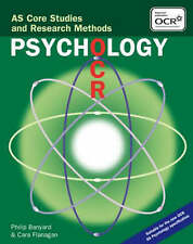 OCR Psychology: AS Core Studies and Research Methods,GOOD Book