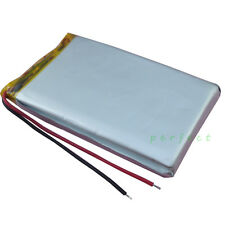 3.7V 3000 mAh Polymer Li Lithium cells For GPS DVD PDA iPod PSP Tablet PC 904270