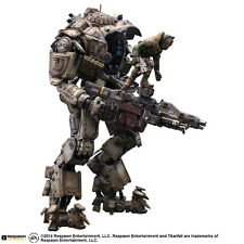 "Play Arts Kai TitanFall Atlas Pilot Battle Mech PVC 10.23"" Figure Figuren In Box"