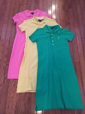 Women's Shirt Dress Ralph Lauren Polo Talbots - Lot of 3 - Size XS