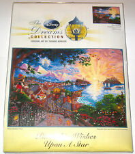 Disney Dreams Collection✿Cross Stitch Kit Thomas Kinkade Wish Upon Star 6 x 12