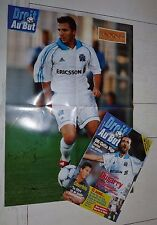FOOTBALL DROIT AU BUT N°16 1999 OLYMPIQUE MARSEILLE OM MAURICE EDSON DUGARRY