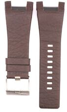 Compatible Diesel DZ4246 32mm Brown Genuine Leather Watch Strap DSL157