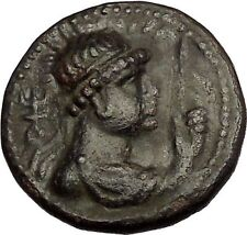 VIMA TAKTO Soter Megas 80AD Kushan India Empire Tetradrachm Greek Coin i53561