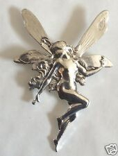 ART NOUVEAU STYLE /MUCHA TINKERBELL ABSINTHE FAIRY  BROOCH/PIN LARGE NEW
