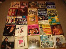 LOT of 25 JAZZ/HOLLYWOOD/EARLY STAR LP's EX to NM GORGEOUS