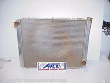 "AFCO Chevy Pro Series Aluminum Racing Radiator 19"" x 26""  IMCA UMP Figure 8 Demo"