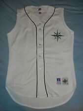 AUTHENTIC Russell Athletic KEN GRIFFEY JR SEATTLE MARINERS Jersey SEE PIC HOF 44