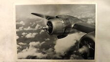 1950's Sabena Airways Real Photo DC-4 Postcard